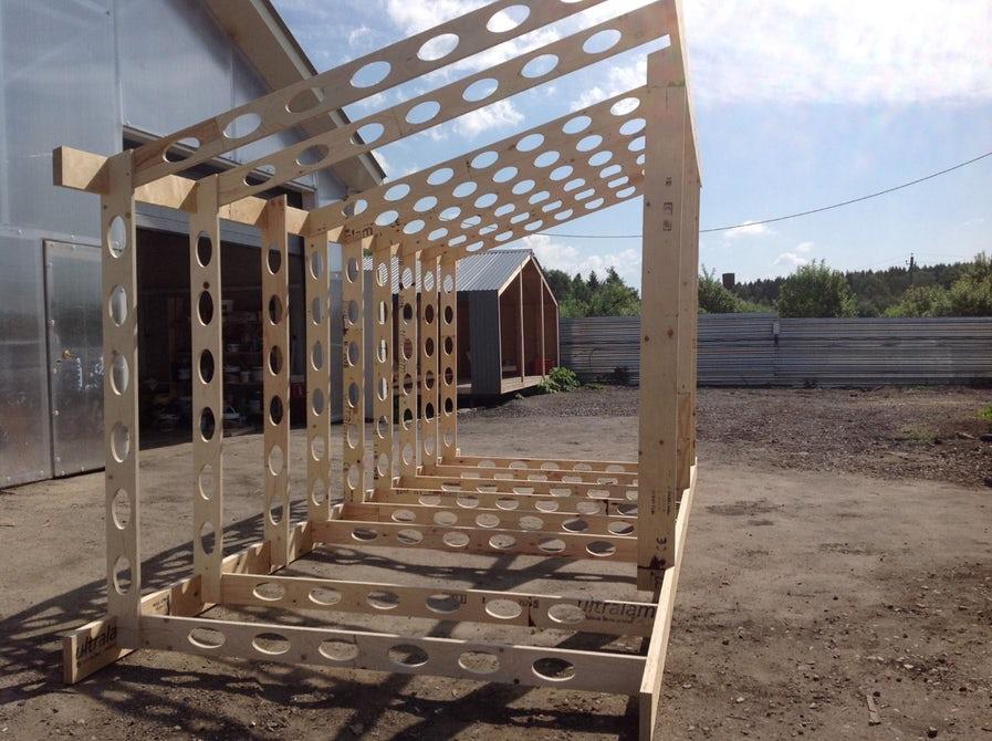 off grid cabin frame designs