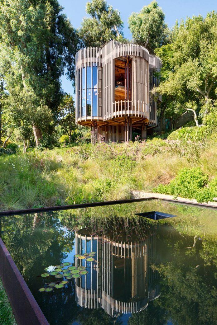 retreat resembling tree house
