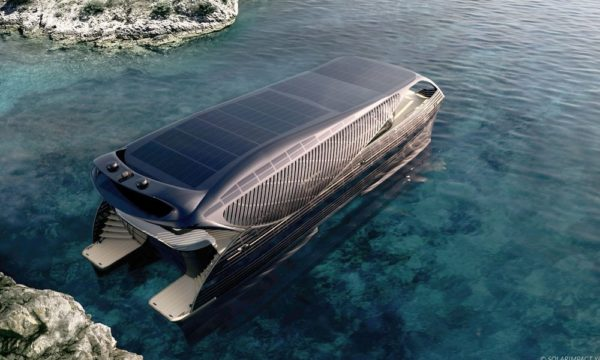 Look at SolarImpact- the Solar-Powered Super Yacht