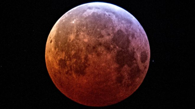Lunar Eclipse 2019 Super Blood Moon