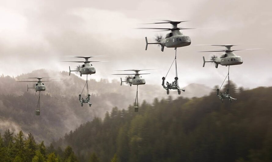 Lockheed Martin and Boeing unveiled Defiant X Military Helicopter